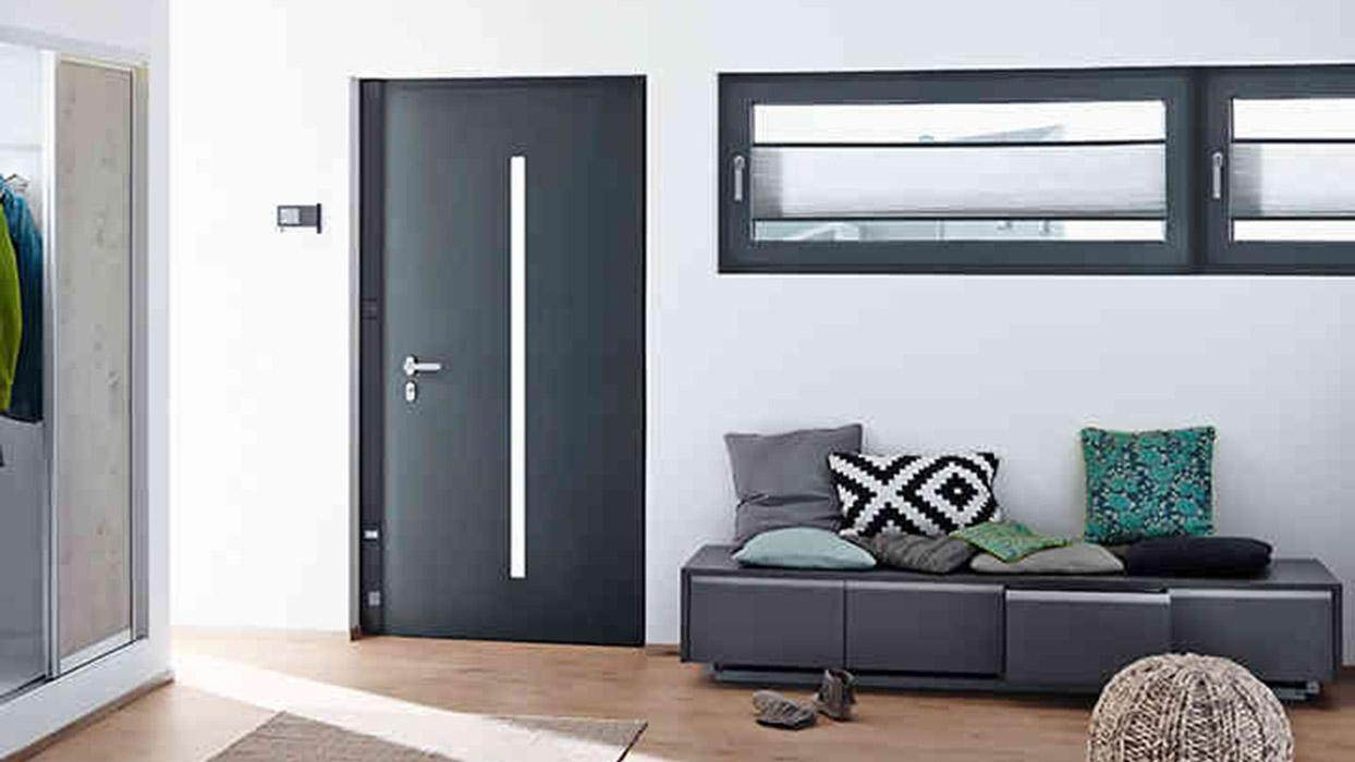 Schuco aluminium Front doors and Entrance Doors